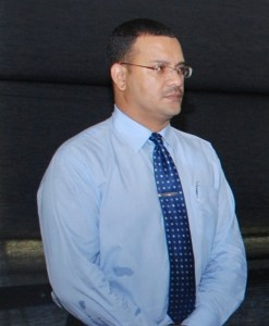 Head of the Customs Anti –Narcotics Unit (CANU), James Singh