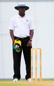 Senior Umpire, Nigel Duguid