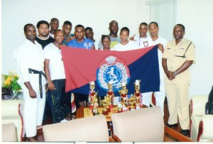 The team along with Senior Superintendent Paul Williams