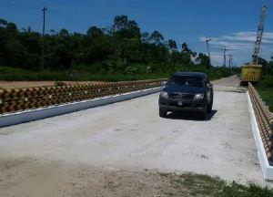 Moleson Creek Bridge completed