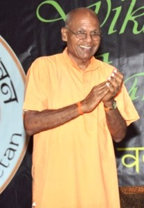 Principal and Founder of the School Swami Aksharananda