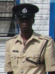 'C' Division Traffic Officer Inspector Gavin Mingo