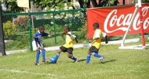Some of the action during the tournament.