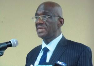 Ombudsman Justice Winston Moore. [iNews' Photo]