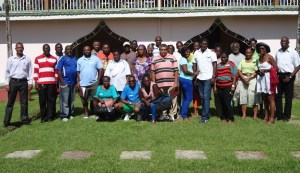 The members of the AAG at the retreat.