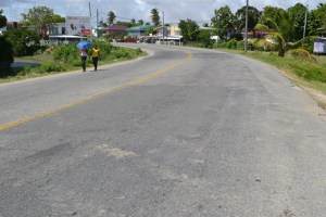 A section of WCD road
