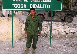 Shot soldier: Emil Mendez
