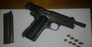 The Firearm recovered at McDoom