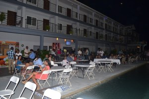 Guests at the re-launch of the Park Vue  Hotel, East Bank Demerara