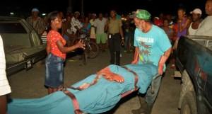 The body of Tiffon Peters. [iNews' Photo]