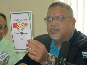 Chairman for Trade and Investment of the PSC, Ramesh Dookhoo. [iNews' Photo]