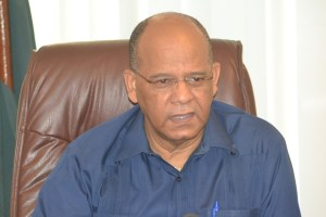 Home Affairs Minister, Clement Rohee
