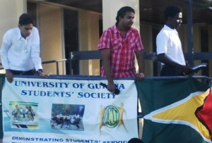 UGSS members. [iNews' Photo]