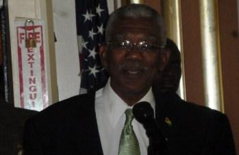 APNU+AFC Presidential Candidate, David Granger