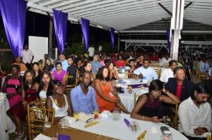 A section of the gathering at the Berbice Regional Health Authority's 12th award ceremony