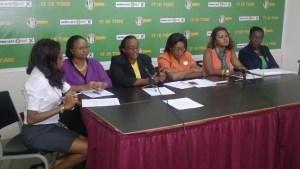 APNU/AFC female candidates