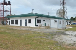 The Emergency Operations Centre (EOC) located at Guyana Defence Force Base Camp Stephenson at Timehri.