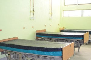 A section of the Intensive Care Unit (ICU).