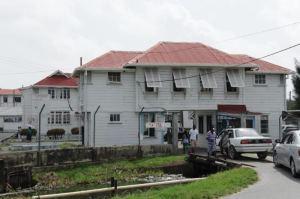 The West Demerara Regional Hospital. [iNews' Photo]