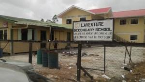 The L' Aventure Secondary School. [iNews Photo]