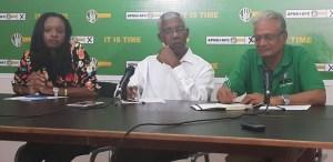Presidential Candidate of the APNU+AFC Coalition, Brigadier David Granger. [iNews' Photo]