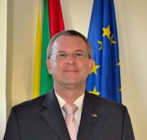 Head of the EU delegation, Ambassador Robert Kopecký
