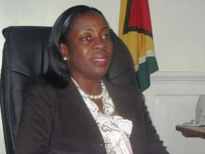however Junior Education Minister Nicolette Henry. [iNews' Photo]