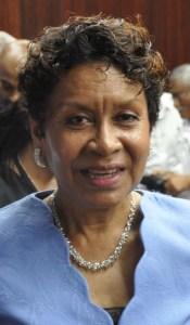 Minister in the Ministry, Mrs. Valerie Garrido-Lowe
