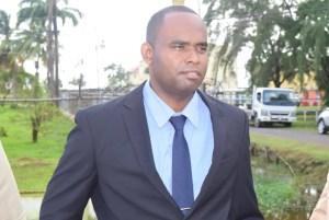 Crime Chief Wendell Blanhum. [iNews' Photo]