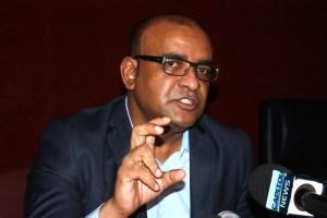 Opposition Leader Bharrat Jagdeo
