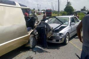 The scene of the accident. [iNews' Photo]