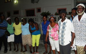 Residents of the Ann's Grove Community at the Meeting with GWI's CEO
