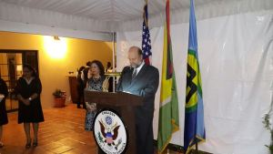US Ambassador to Guyana, Perry Holloway