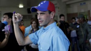 Henrique Capriles once ran for the presidency