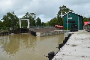 The drainage pump station that was commissioned at Gangaram, Berbice, Region Six