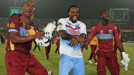 The WICB has said that Chris Gayle, Dwayne Bravo and Darren Sammy are eligible for World T20 selection, provided they meet the selection panel's criteria (Photo credit: ICC)
