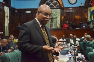 PPP/C MP Juan Edghill, introduced the motion to the National Assembly, on the basis of five critical grounds