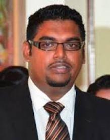 Former minister, Irfaan Ali