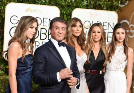 "When Sylvester Stallone took home the Golden Globe for Best Supporting Actor in a Motion Picture for his performance in ""Creed,"" the A-list crowd rose to its feet, giving Sly the first standing ovation of the night"
