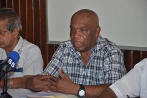 General Secretary of NAACIE Kenneth Joseph