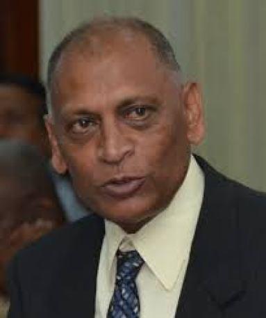 Dr Leslie Ramsammy, former Minister of Agriculture