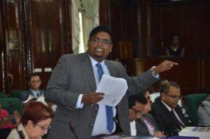 PPP/C Member of Parliament, Irfaan Ali