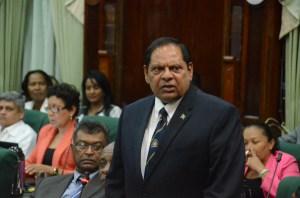 Prime Minister, Moses Nagamootoo