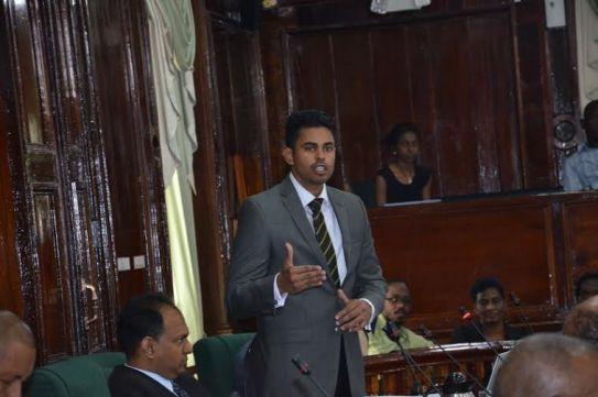 Opposition PPP/C Member of Parliament, Charles Ramson Jnr