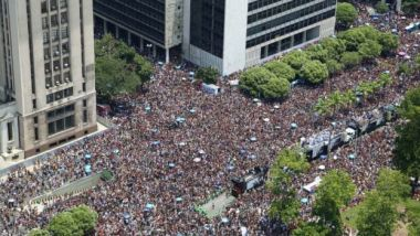 More than 500 parades will be held in Rio de Janeiro until Wednesday morning