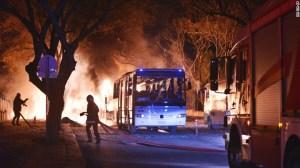Explosion rocks Turkey capital (CNN photo)