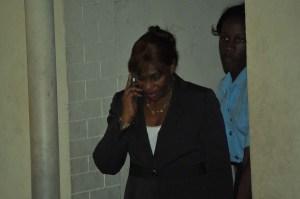 Former Public Service Minister, Dr Jennifer Westford
