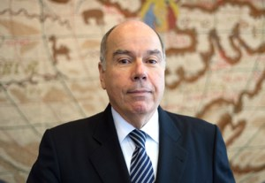 Brazil's Minister of External Relations, Mauro Vieira