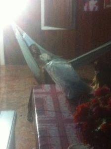 Man found dead in hammock