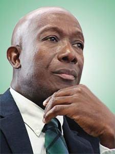 Trinidad and Tobago's Prime Minister Keith Rowley